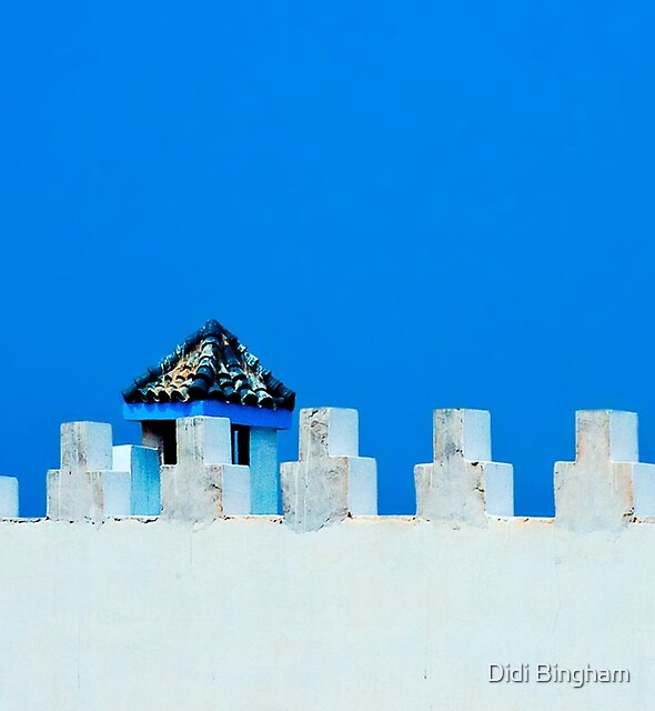Battlements in Blue by Didi Bingham