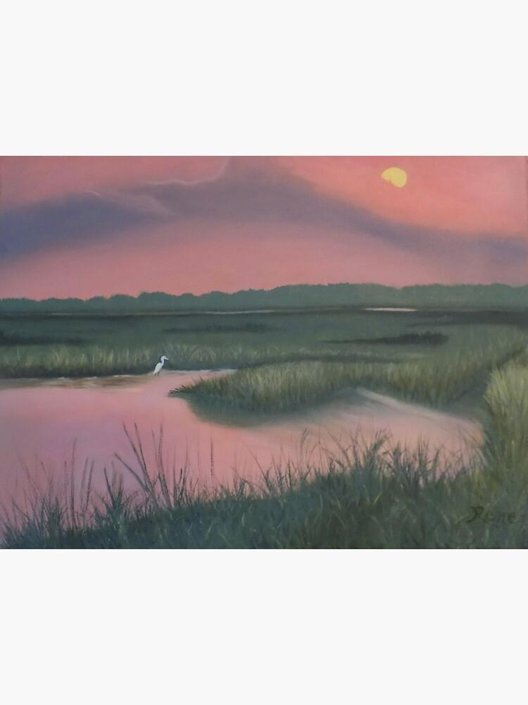 Marsh Sunset by irenebernhardt
