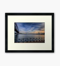 Paint Brush (Uncut) - Moods Of A City - The HDR Experience Framed Print