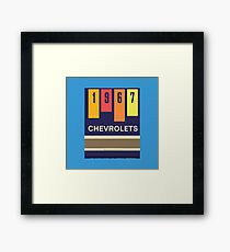 001 | 1967 Chevrolets Matchbook Framed Print
