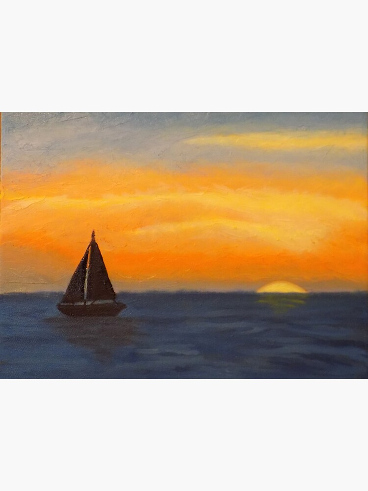 Sailing into the Sunset by irenebernhardt