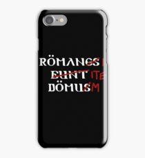 Roman's Go Home! iPhone Case/Skin