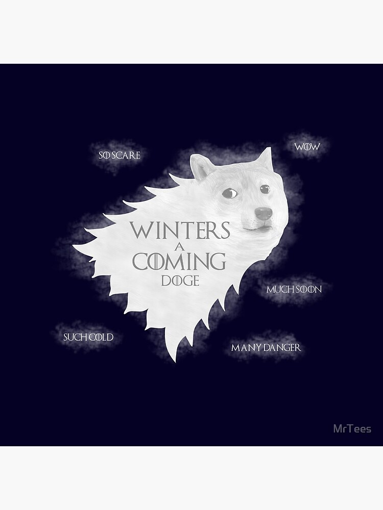 Winters a Coming by MrTees