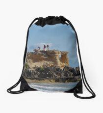 Stupid And Irresponsible  (Point Peron, WA) Drawstring Bag