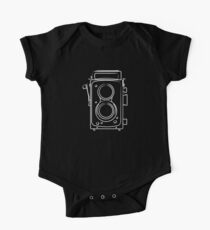 Old Camera || Photograpy (White) One Piece - Short Sleeve