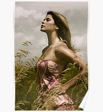 Gladiator woman Poster