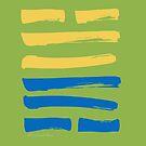 28 Critical Mass I Ching Hexagram by SpiritStudio