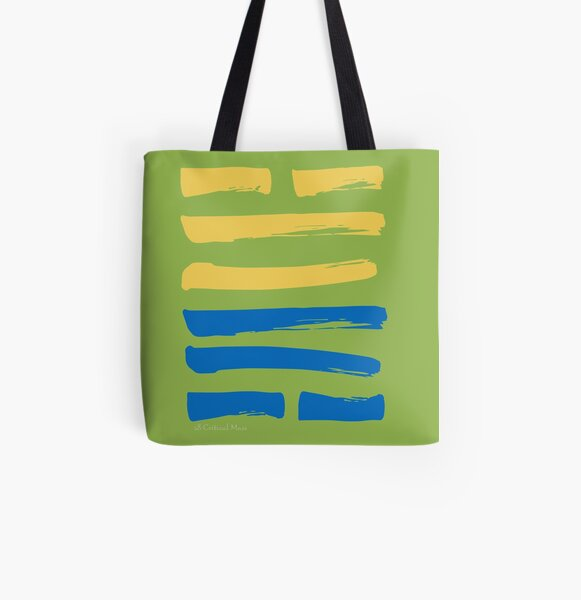 28 Critical Mass I Ching Hexagram All Over Print Tote Bag