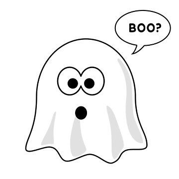 Halloween Ghost - Happy Halloween T-Shirt by Sleazoid