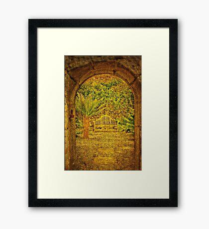 The Fernery Framed Print