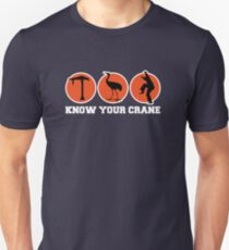 Know Your Crane Unisex T-Shirt