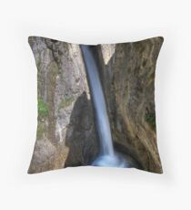 Out of the Mountain Throw Pillow