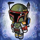 """""""Bad Ass Bounty Hunter"""" POOTERBELLY by Pat McNeely"""