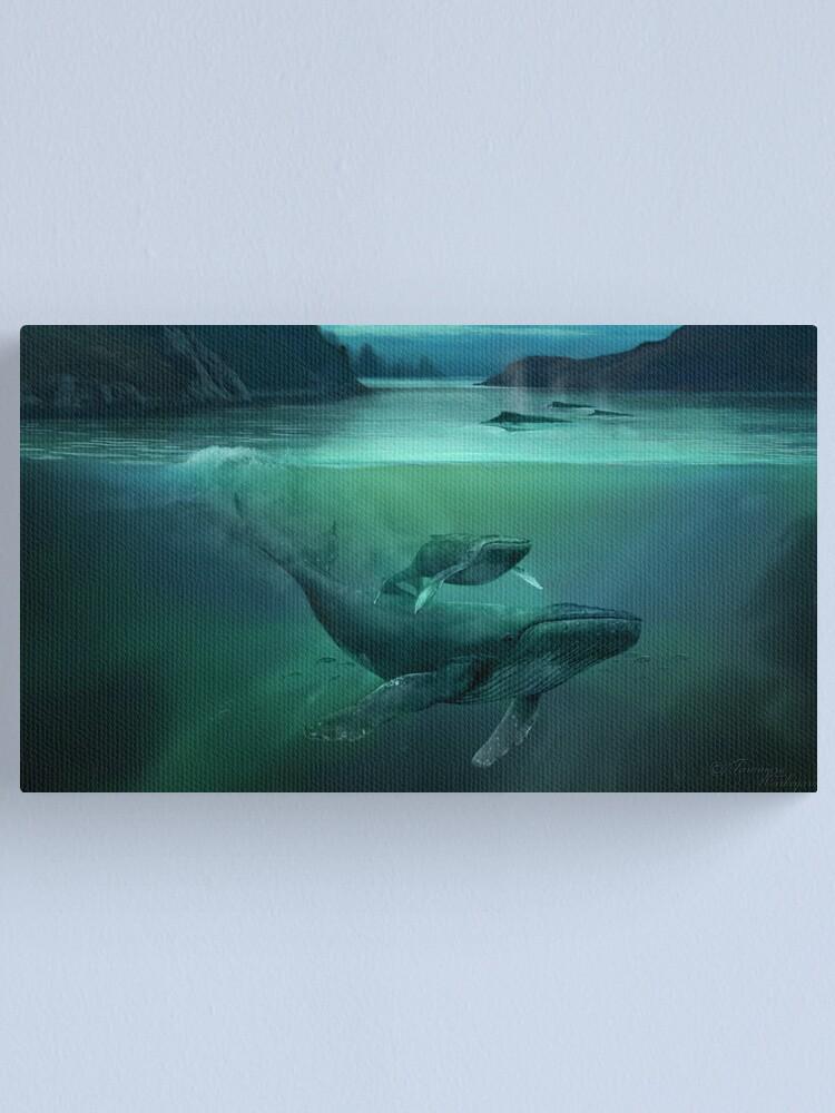 Alternate view of Sedna's Love Canvas Print