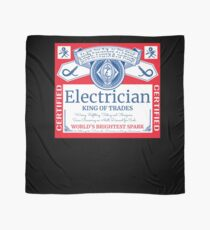 Funny Electrician Shirt Beer Drinking Retired Gift T-Shirt Scarf