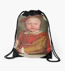 Hans Holbein the Younger - Edward VI as a Child  Drawstring Bag