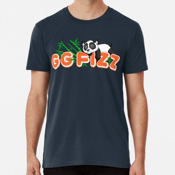 Panda Sleeping on GG Fizz name Premium T-Shirt