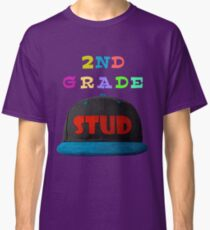 2nd Grade Stud - Schoool Collection For Teachers And Kids Classic T-Shirt