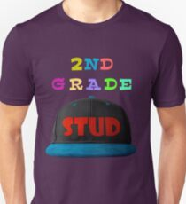 2nd Grade Stud - Schoool Collection For Teachers And Kids Unisex T-Shirt