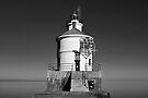 Superior Entry Lighthouse by Sun Dog Montana