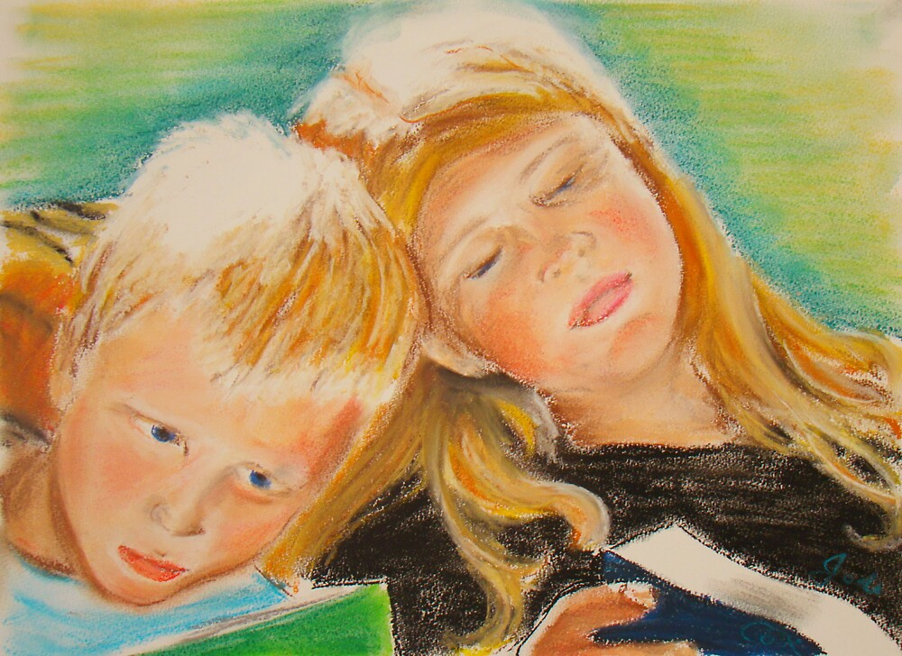 Reading Together by Jodi Gray