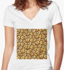Lions everywhere Women's Fitted V-Neck T-Shirt