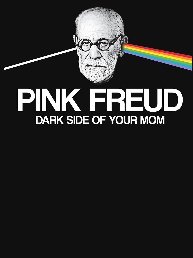 Pink Freud - Dark Side of your Mom by LemonRindDesign