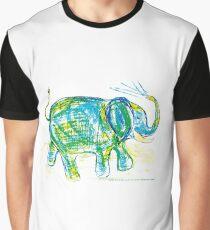 Elephant design, elephant surface pattern, elephant illustration Graphic T-Shirt