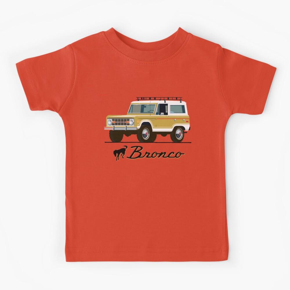 Vintage Bronco Kids T-Shirt