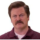 ron swanson 3 by lorih96