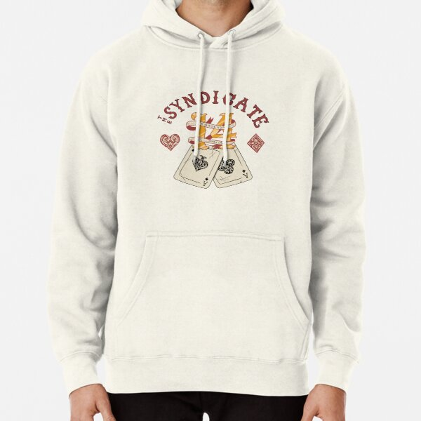 The Syndicate - Temporada de Fortuna (dark outlines) Pullover Hoodie
