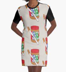 Let's Get Weird Graphic T-Shirt Dress