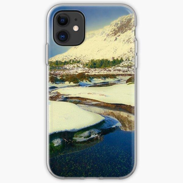 Walls of Jerusalem in winter iPhone Soft Case
