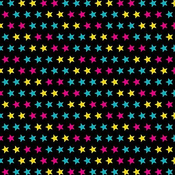Colorful stars pattern by YellowLion