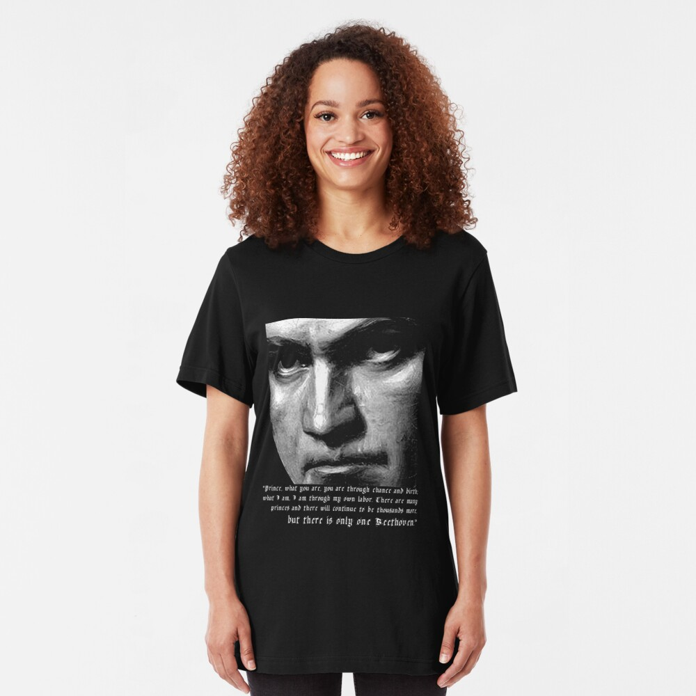 There is only one Beethoven! Slim Fit T-Shirt