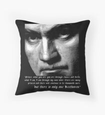 There is only one Beethoven! Throw Pillow