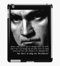 There is only one Beethoven! iPad Case/Skin
