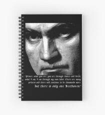 There is only one Beethoven! Spiral Notebook