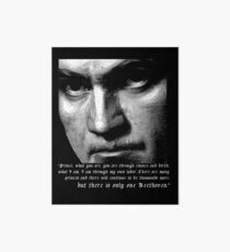 There is only one Beethoven! Art Board
