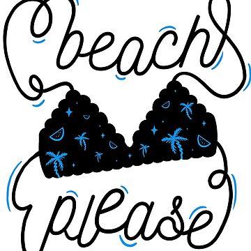 Beach Please - Beach Time by katycreates