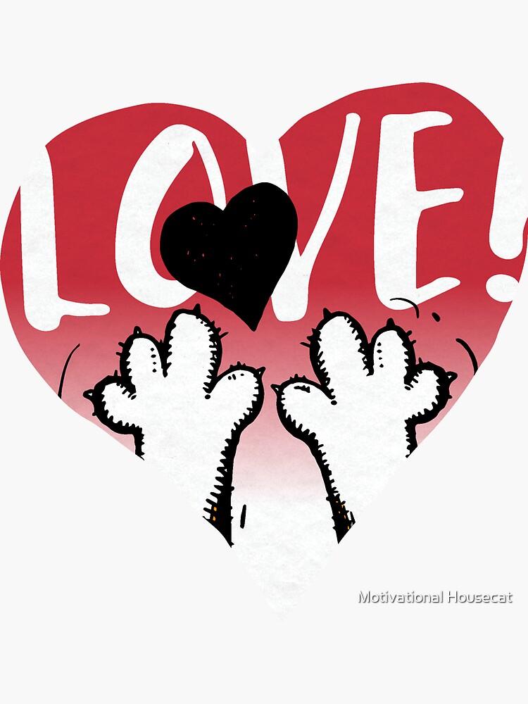 Love Heart Graphic by FuzzyPoet1