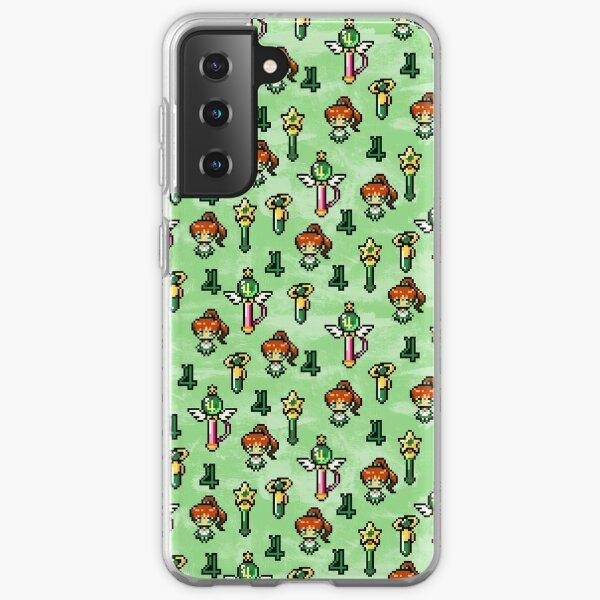 Sailor Jupiter - Green Samsung Galaxy Soft Case