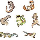 «Gecko sticker batch» de Colordrilos