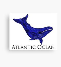 Atlantic Ocean Canvas Print