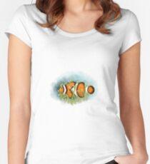 Clownfish  Camiseta entallada de cuello redondo
