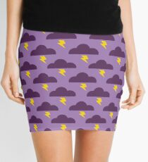 Embrace the Stormy Weather Mini Skirt