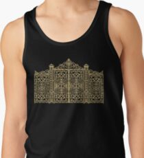 French Wrought Iron Gate | Louis XV Style | Black and Gold Tank Top