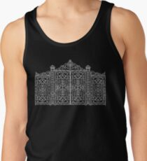 French Wrought Iron Gate | Louis XV Style | Black and Silvery Grey Tank Top