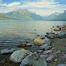 Lake McDonald, Glacier National Park Montana  by clizzio