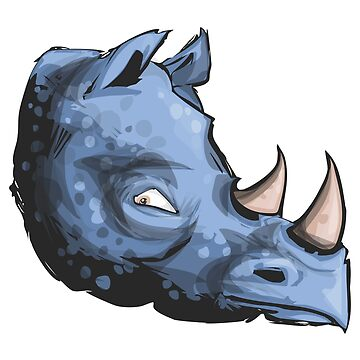 Blue rhino by criarte